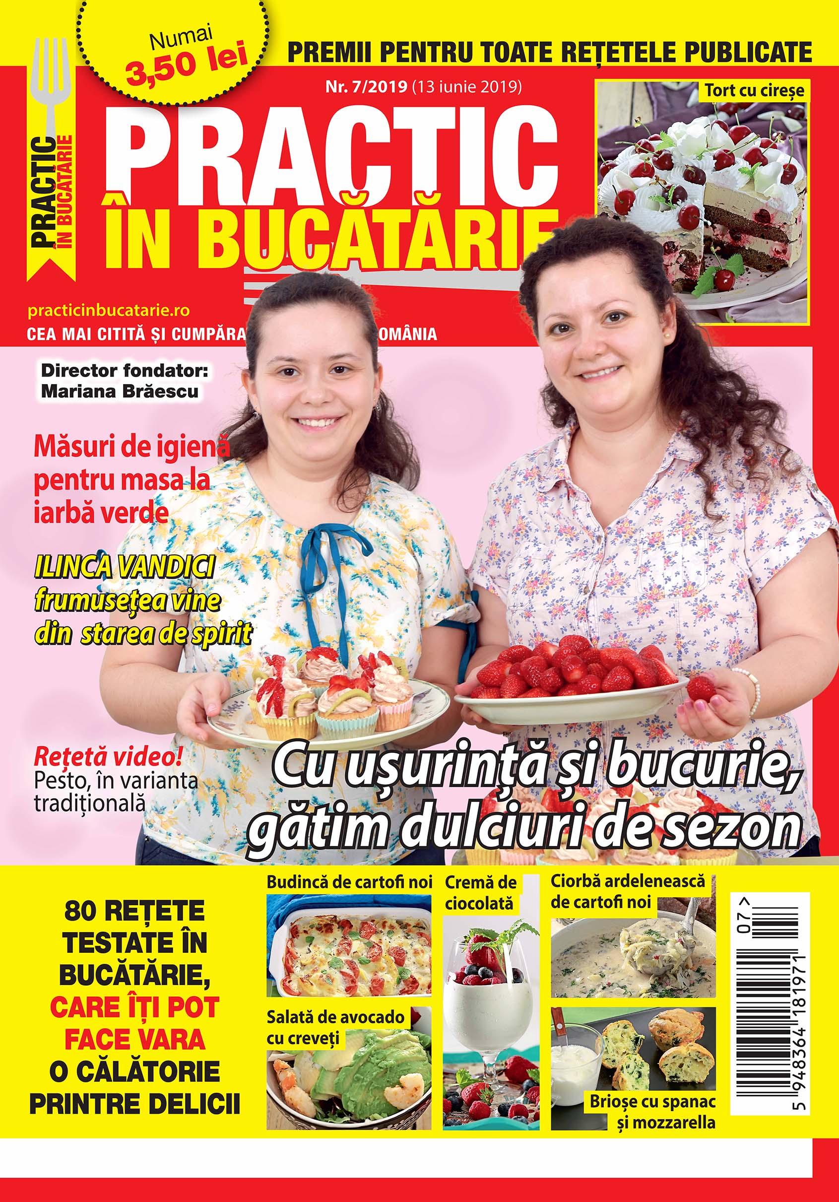 Practic in bucatarie 07-2019