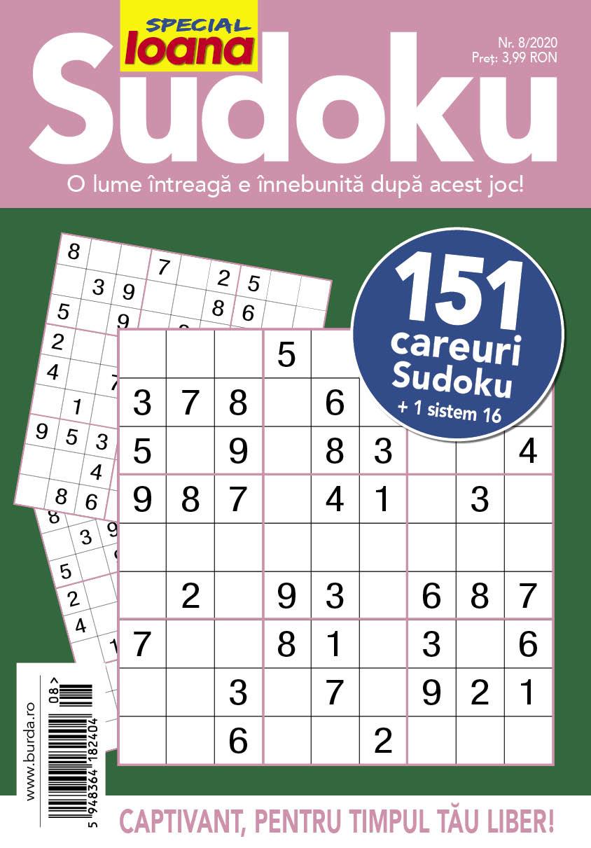 Ioana Sudoku 08-2020