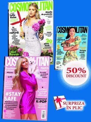 cosmopolitan 3 reviste