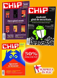 Chip pachet 3 reviste