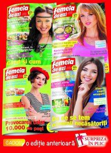 femeia de azi pachet 4 reviste