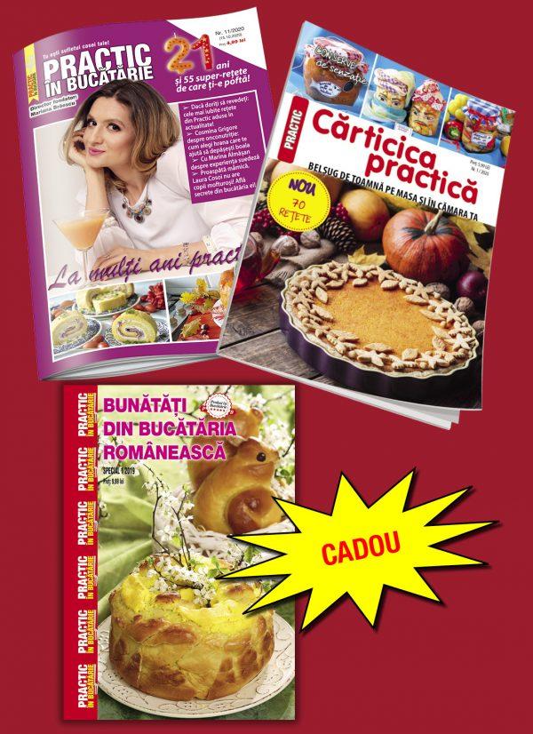 practic in bucatarie 11/2020 + carticica practica 1/2020