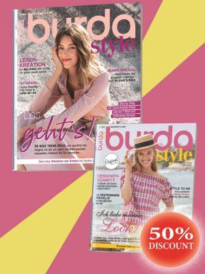 burda style 2-2020 + burda 6-2019