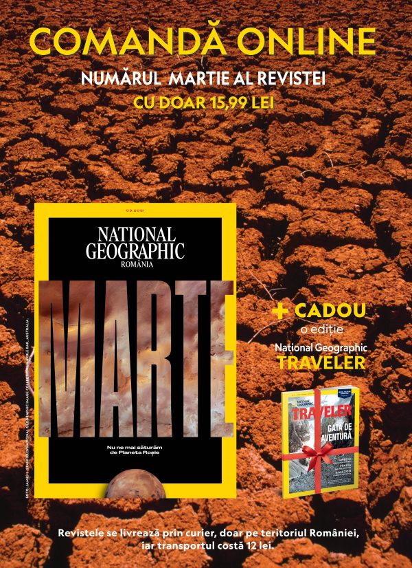 national geographic martie 2021